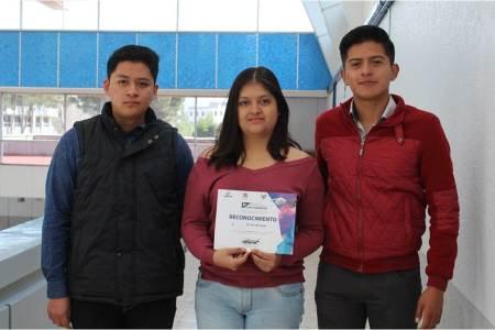Ganan alumnos de UAEH Concurso Creatividad e Ingenio del Rehilete