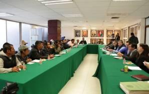 Gobierno del Estado coadyuba a resolver delimitaciones territoriales en el Valle del Mezquital1