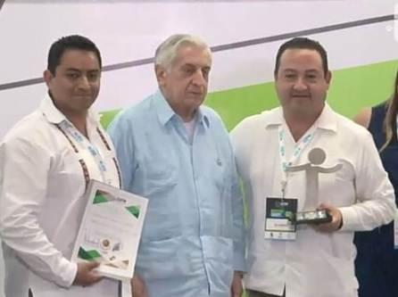 IEEH recibe Premio a las Mejores Prácticas de Innovación Tecnológica y Gubernamental