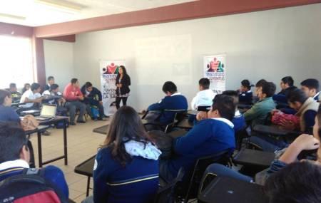 IMJ de Mineral de la Reforma concientiza a  jóvenes para prevenir violencia en el noviazgo.jpg