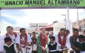 Inaugura Nuvia Mayorga Delgado y Héctor Astudillo Flores, Casa del Niño Indígena 1