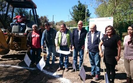 Inicia Sedesol construcción de plantas de aguas residuales en Chapantongo