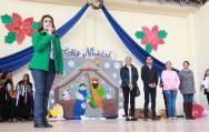 Niños del CAIC celebran la navidad con festival cultural en Mineral de la Reforma 1