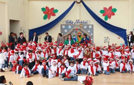 Niños del CAIC celebran la navidad con festival cultural en Mineral de la Reforma 3