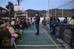 Programa Abrigo, llega a barrios altos de Pachuca