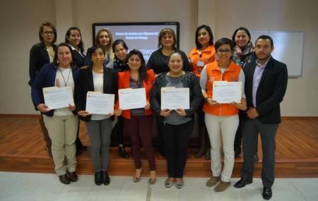 Psicólogas del CJMH e instituciones colaboradoras certificadas