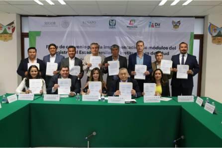 Signan convenio de colaboración Gobierno del Estado de Hidalgo e instituciones de salud5