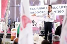 Trabajando por el campo, Hidalgo Crece Contigo, Omar Fayad5