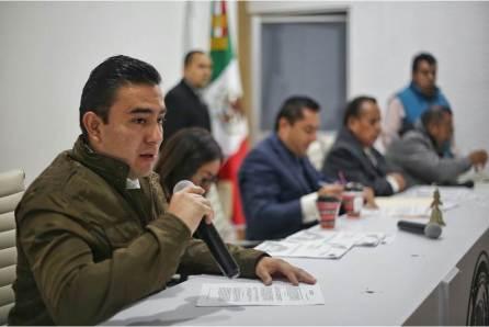 Turnan a comisiones propuesta del alcalde Raúl Camacho para presupuesto de egresos 2018-4