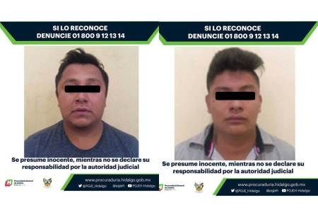 Vinculan a proceso a par de hombres investigados por el delito de secuestro