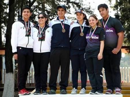 Arqueros hidalguenses se lucen en Campeonato Nacional de Exteriores