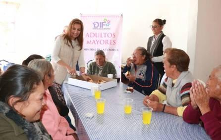 Arrancan DIF de Mineral de la Reforma actividades con adultos mayores 2