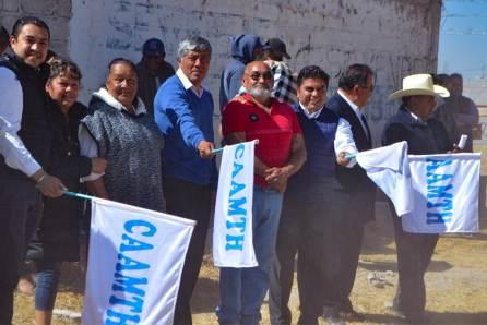 Arrancan obra de drenaje sanitario en la colonia Niños Héroes en Tizayuca4
