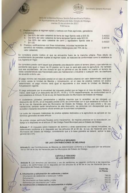 Ayuntamiento de Pachuca aclara; costos por inhumaciones es de 752 pesos, hubo confusión por supuesto cobro excesivo2