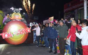 Cabalgata de Reyes en Tizayuca, un éxito2