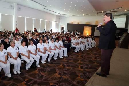 Capacitación constante, fortaleza de la enfermería en Hidalgo