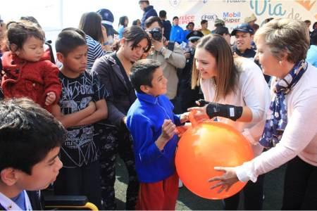 Con juguetes y actividades familiares llega la magia de los Reyes Magos a Pachuca