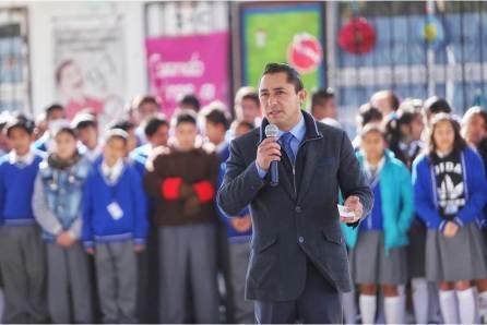 Continúa en 2018 programa cívico Honrando a mi Bandera en Mineral de la Reforma4