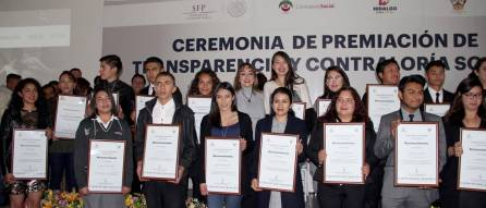 Contraloría Hidalgo Premio Estatal Contraloría Social y Reconocimientos de Transparencia En Corto 2