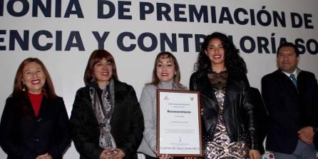 Contraloría Hidalgo Premio Estatal Contraloría Social y Reconocimientos de Transparencia En Corto 3