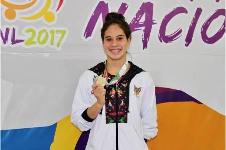 Daláhi Meza por su primer compromiso internacional del 2018
