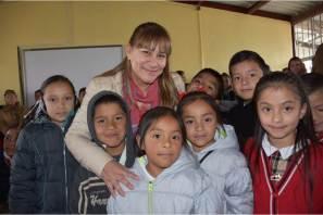 Encabeza Sayonara Vargas gira de trabajo en la región de la Sierra Gorda