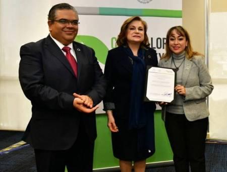 Entrega Secretaría de la Función Pública nombramiento a la Contralora de Hidalgo, Citlali Jaramillo1