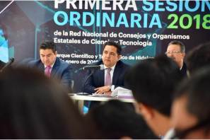 Hidalgo preside la Red de consejos y organismos de ciencia y tecnología del país