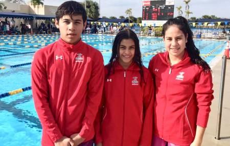 Hidalguenses brillan en Copa UANA de natación