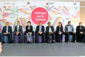 Inauguran Diálogos por la Cultura, busca construir iniciativa de ley