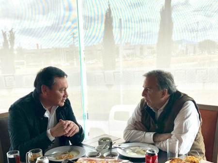 José Antonio Meade se reunió con Miguel Ángel Osorio Chong