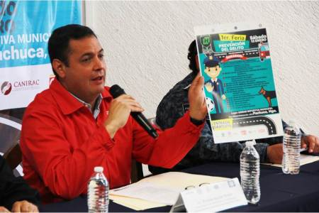 Llega a Pachuca la Primer Feria de Prevención del Delito