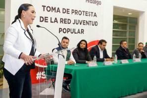 Los jóvenes son el futuro de México, Erika Rodríguez Hernández