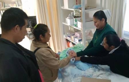 Madre da a luz con cardiopatía de riesgo de la comunidad de Yahualica