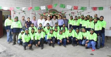 Meneses Arrieta entrega equipo de calidad, que garantice su seguridad e integridad del personal