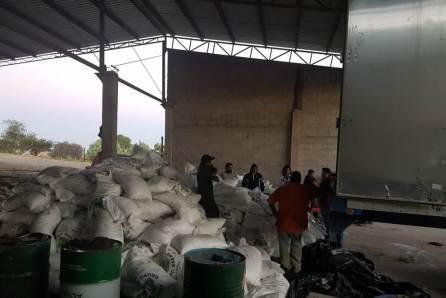 Recuperan más de 27 toneladas de azúcar, dos remolques y una caja de carga4