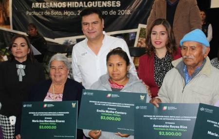Sedeso fortalece actividad artesanal en Hidalgo1