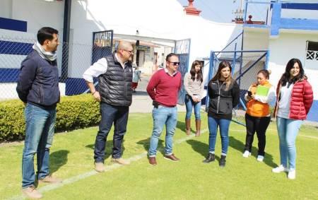 Titular del Instituto Hidalguense del Deporte realiza gira de trabajo en Tepeji del Río2