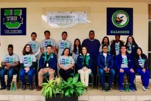 UTEC recibe docente francesa y alumnos de Colombia, Bolivia y Haití y sus estudiantes viajarán al extranjero