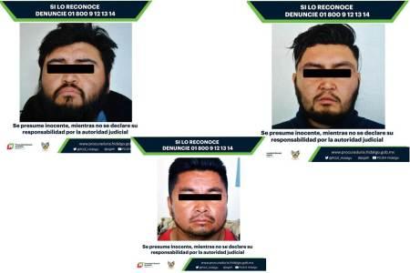 Vinculan a proceso a tres presuntos responsables de homicidio y lesiones