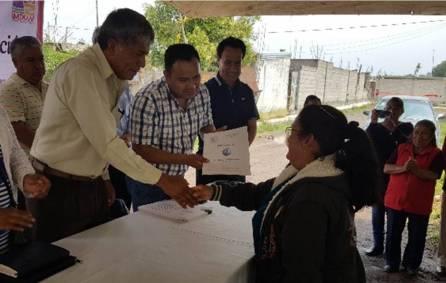 144 Familias tizayuquenses ya tienen certeza jurídica de sus propiedades1