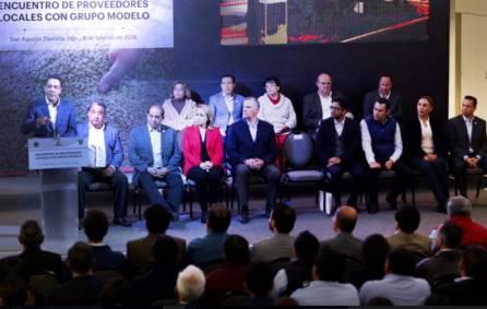 Acerca gobernador Omar Fayad a empresas hidalguenses para que sean proveedoras de proyecto cervecero de Grupo Modelo3