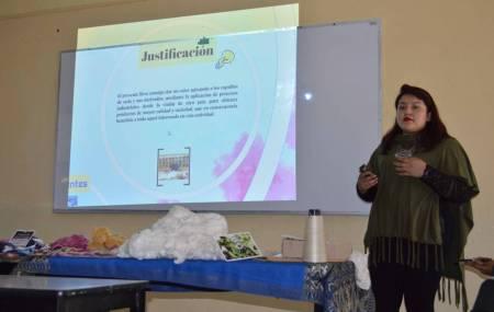 Alumna de la UPFIM concluye estadía en Argentina