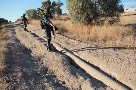 Asegura Policía Estatal más de 2 millones de litros de hidrocarburo en Hidalgo4