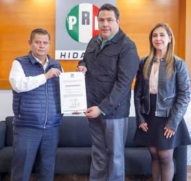 Bernardo Arista, nuevo delegado especial con funciones de presidente del PRI Pachuca1