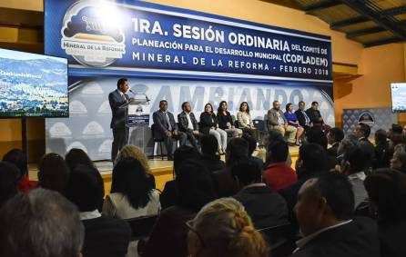 Celebran primera sesión de COPLADEM 2018, en Mineral de la Reforma1