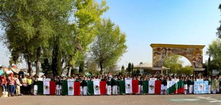 Conmemoran en Tizayuca el 197 Aniversario del Día de la Bandera7