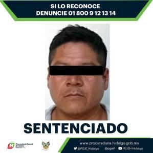 Consigue PGJEH la sentencia más alta impuesta por el delito de violación equiparada agravada