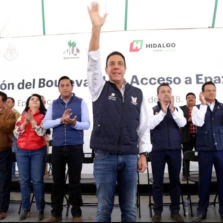 Cumplimos con entrega de mejores vialidades, ahora en el municipio de Epazoyucan2