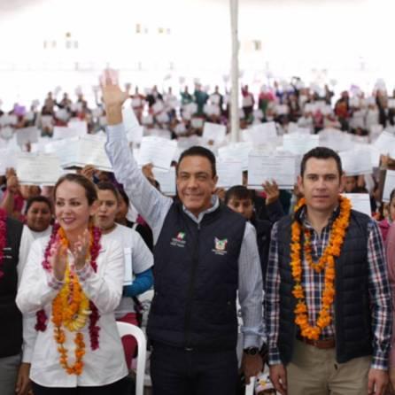 Día histórico para la Huasteca, tras reforzar el programa Prospera en la región1